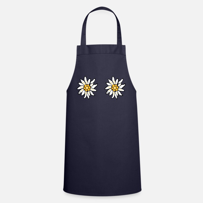 Beach Aprons - sexy flowers lesbian cool sex provocation Pride  - Apron navy