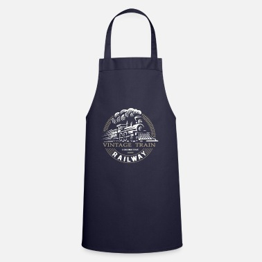 Steam Locomotive Locomotive, railway, steam locomotive - Cooking Apron