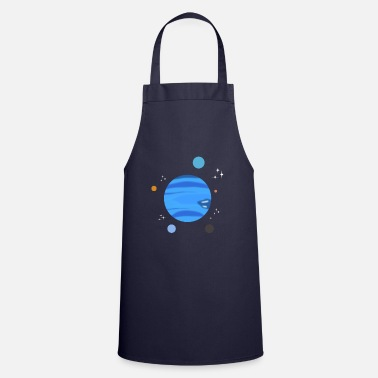 Neptune Neptune Planet rings gift - Cooking Apron