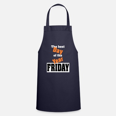B Day Day B Friday gift - Apron