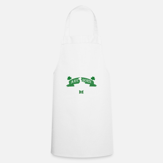 Irish Aprons - Irish Dancing legends are born in November girls - Apron white