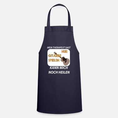Key Button Musician Shirt · Guitar · Playing Gift - Cooking Apron