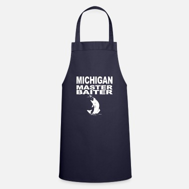 Cards Michigan Master Baiter Bass Fisherman - Cooking Apron