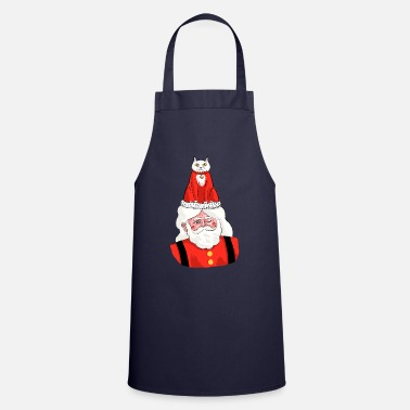Grumpy Christmas Grumpy Cat - Cooking Apron