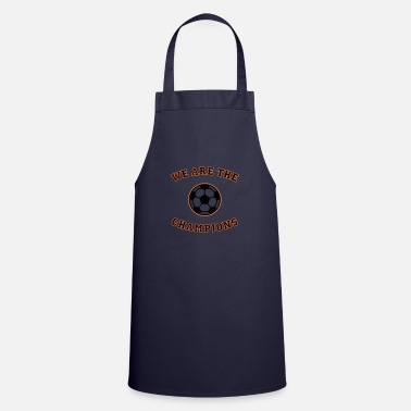 Schland We are the champions (black - red - gold) - Apron