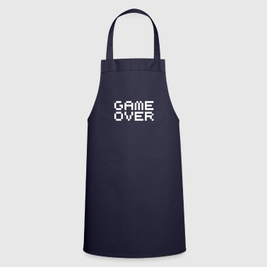 Game Over Game over / game over pixels - Tablier de cuisine