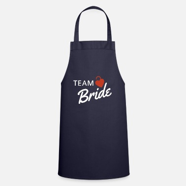 Nickname Team Bride Bride Wife Wedding Bachelorette Party - Apron