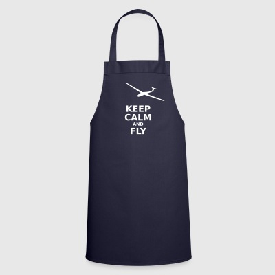 Keep calm and fly - Cooking Apron