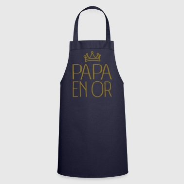Papa En Or - Tablier de cuisine