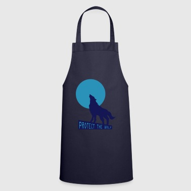 Wolf wolf - Cooking Apron
