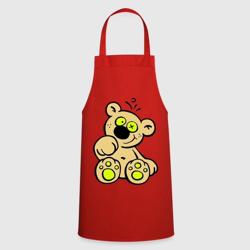 Cute Teddy Bear - Cooking Apron
