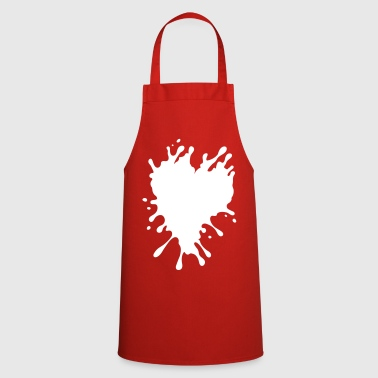 Splatter Heart - Cooking Apron