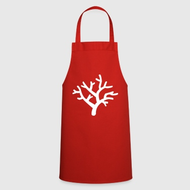 Coral coral reef sea ocean sand beach - Cooking Apron