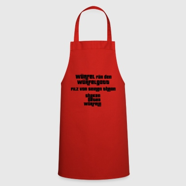 Dice for the dice god - Cooking Apron