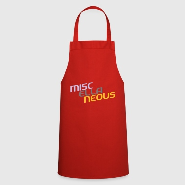 miscellaneous english gift slogan colored motive - Cooking Apron