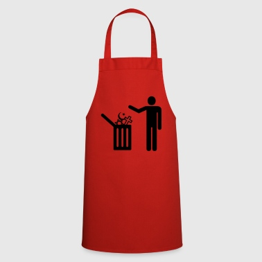 religion - rubbish - Cooking Apron