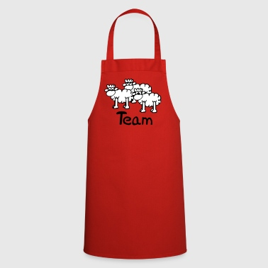 Team Sheep - Fartuch kuchenny