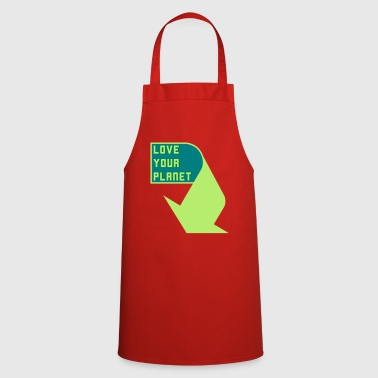 Love Your Planet - imprint - Cooking Apron