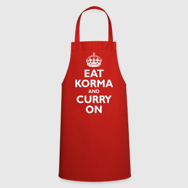 keep_korma_and_curry_on - Cooking Apron