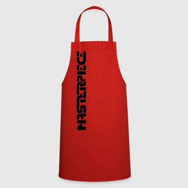 Masterpiece (vertical) - Cooking Apron