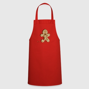The gingerbread man - gingerbread tastes good - Cooking Apron