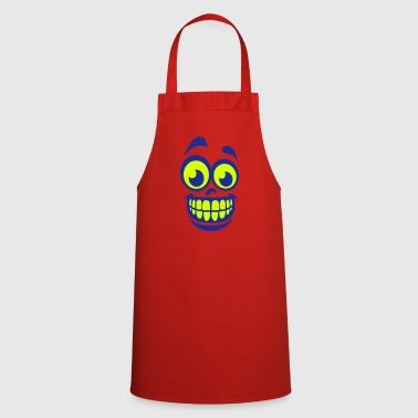 smiley smile teeth - Cooking Apron
