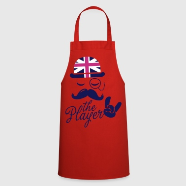 London Funny England Gentleman championship player football | sports sporting moustache t-shirts - Cooking Apron