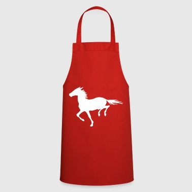 Galop Cheval au gallop - Tablier de cuisine