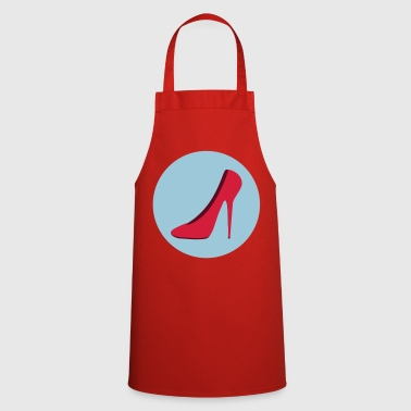Highheels (vector) Your color / your Color - Cooking Apron