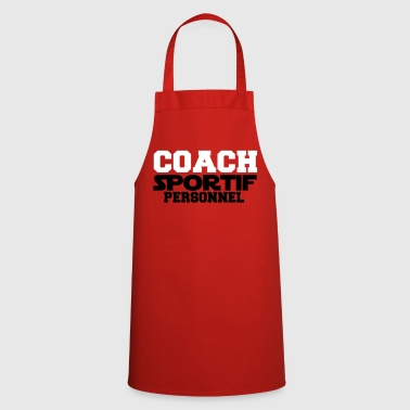 coach sportif personnel Design - Tablier de cuisine