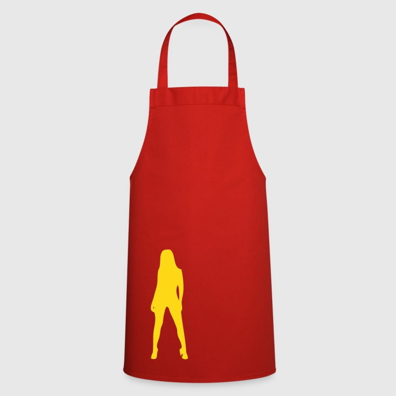 Sexy, devil, porno, lacquer, leather, whip, satan, angels, holy, holy light, love, sex, marriage, pair, friend, friend, dirtily, legs, Po, back, breasts, wing, silhouette, shade, outlined, sado, maso, Domina  - Cooking Apron