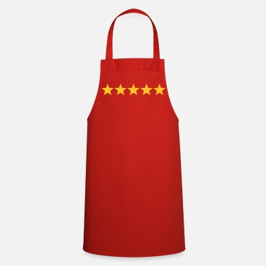 5 Stars 5 Sterne  / 5 Stars - Cooking Apron