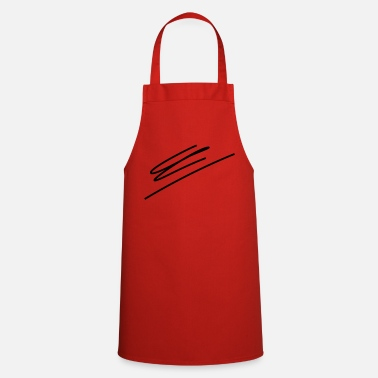 Line Drawing Line drawing - Cooking Apron
