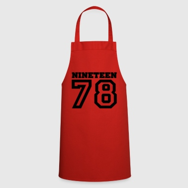 1978 1978 - Cooking Apron