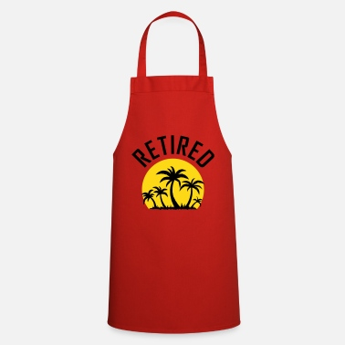 Retirement Retirement sunset - Cooking Apron