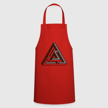 Tribar Trouble - Optical Illusion - Optical - Cooking Apron