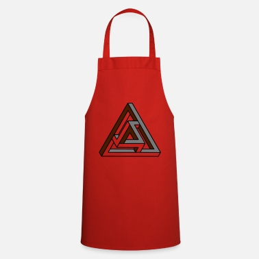 Tribar Tribar Trouble - Optical Illusion - Optical - Cooking Apron