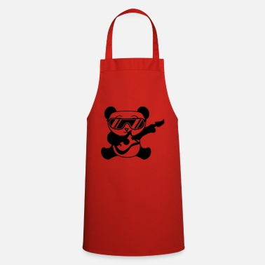 Bandera band guitar electro cool sunglasses concert mus - Cooking Apron