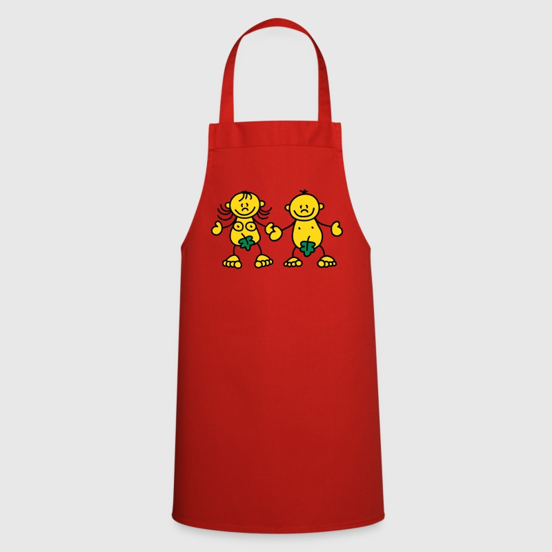 Adam & Eve - Cooking Apron