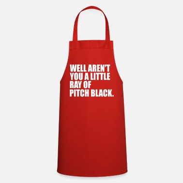 Pitch ray of pitch blck - Cooking Apron
