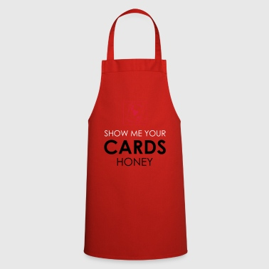 Holdem Poker Cards Card Game Texas Holdem Gift - Cooking Apron