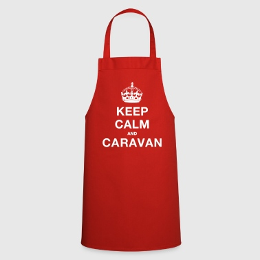 KEEP CALM MISSUS [CARAVAN] - Cooking Apron