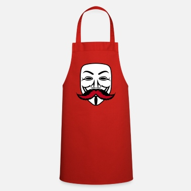 Mustache anonymous task mustache 0 - Cooking Apron