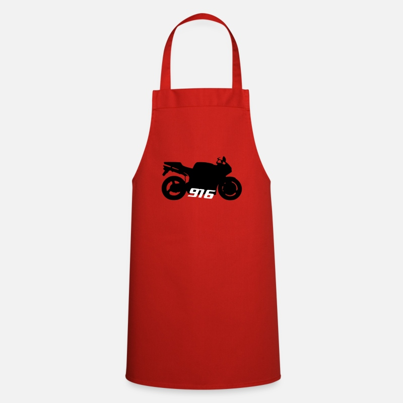 Motorcycle Aprons - Ducati 916 996 - Apron red