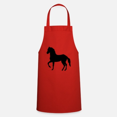 Rap horse rapping - Cooking Apron
