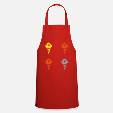 Ice Ice Outdoor Ice Cream Parlor Ice Cream - Cooking Apron