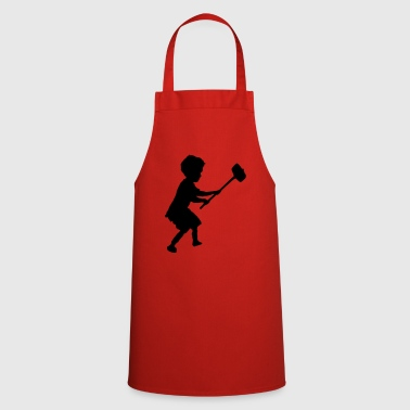 Hammer hammer child - Cooking Apron