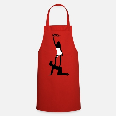 JGA game over sexy Bride Groom Bachelor - Cooking Apron