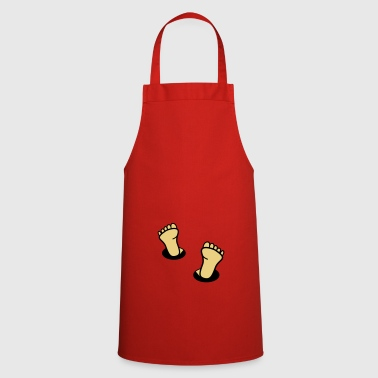 feet - Cooking Apron