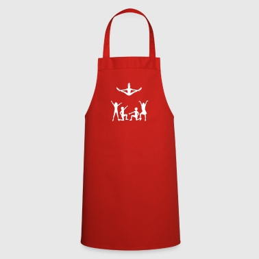 A Group Of Cheerleaders - Cooking Apron